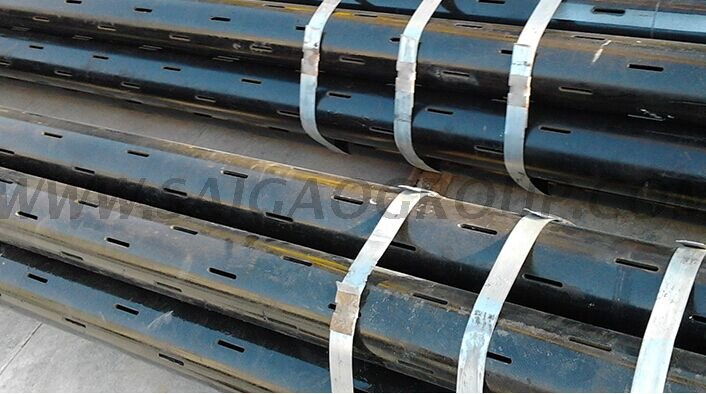 Slotted Liner Well Casing Pipes