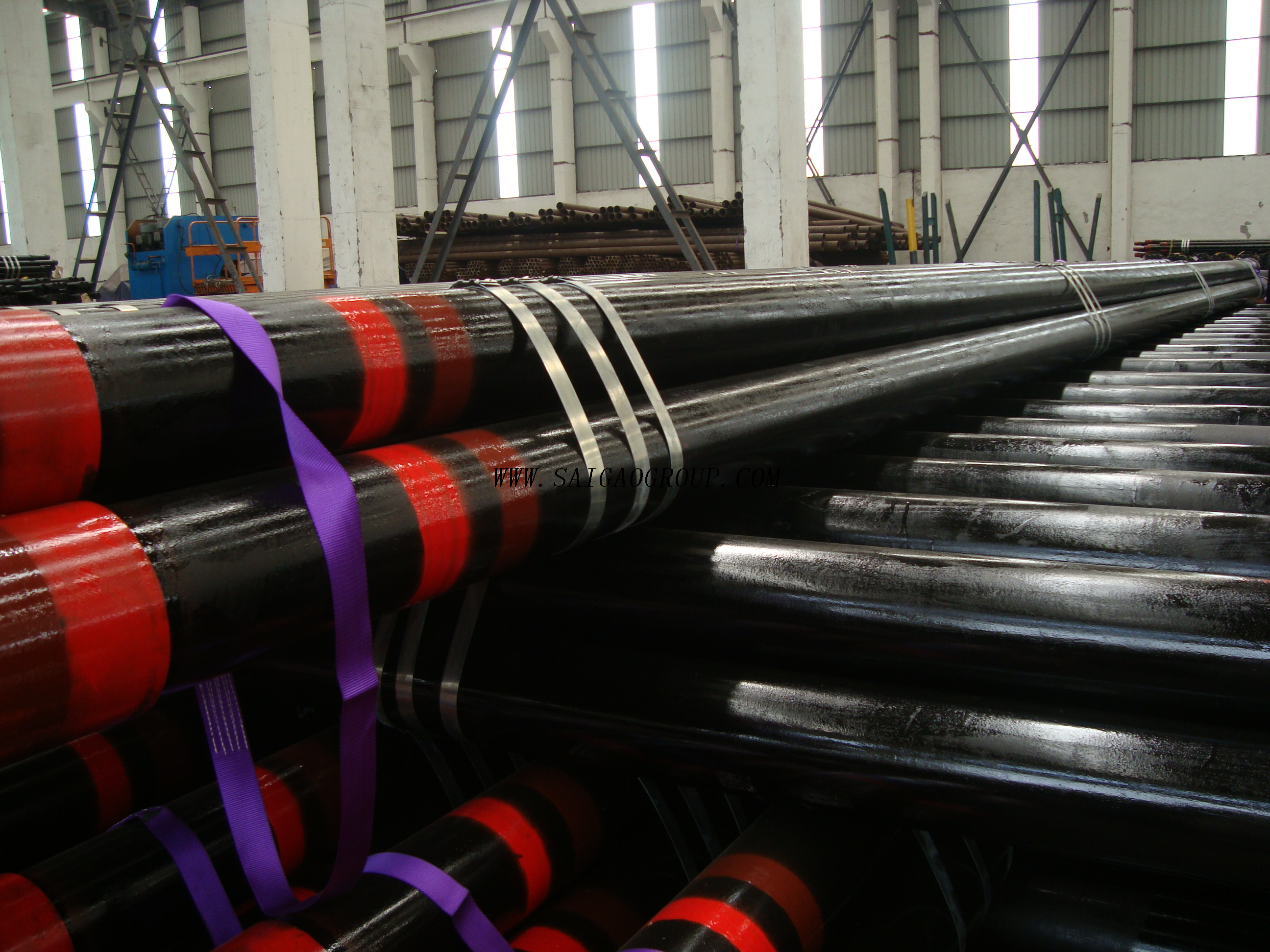 Saigao API 5CT C95 Seamless Steel Casing Pipe